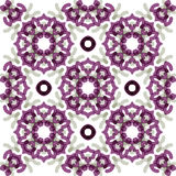 Seamless vector geometric abstract pattern Royalty Free Stock Images