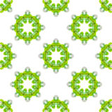 Seamless vector geometric abstract pattern Stock Photos