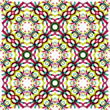 Seamless vector geometric abstract pattern Royalty Free Stock Photo