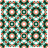 Seamless vector geometric abstract pattern Stock Images