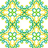 Seamless vector geometric abstract pattern Stock Photography