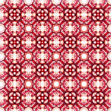 Seamless vector geometric abstract pattern Royalty Free Stock Photos