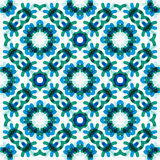 Seamless vector geometric abstract pattern Royalty Free Stock Photography