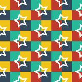 Seamless vector geometric pattern Royalty Free Stock Images