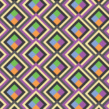 Seamless vector geometric pattern Royalty Free Stock Photos