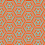 Seamless vector geometric Stock Photo