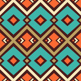 Seamless vector geometric pattern background Royalty Free Stock Photos