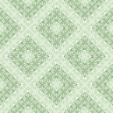 Seamless vector geometric pattern. Green pastel background with decorative ornament Stock Images