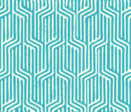 Seamless Vector Geometric Pattern Stock Photo