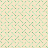 Seamless Vector Geometric Pattern. Simple contemporary sand flat pattern with lines and dots royalty free illustration