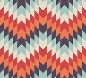 Seamless vector geometric rhombus pattern Stock Photos