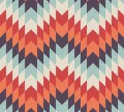 Seamless vector geometric rhombus pattern Stock Photos