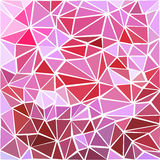 Seamless vector geometric triangle pattern. Pink background. Seamless vector geometric. Triangle pattern background Stock Photos