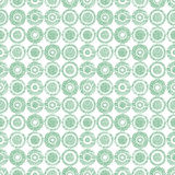 Seamless vector geometrical pattern with circles pastel endless background with hand drawn textured geometric figures. Graphic ill Royalty Free Stock Photography