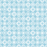 Seamless vector geometrical pattern with circles pastel endless background with hand drawn textured geometric figures. Graphic ill Stock Photos