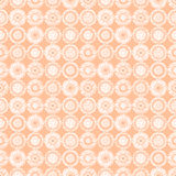 Seamless vector geometrical pattern with circles pastel endless background with hand drawn textured geometric figures. Graphic ill Stock Images