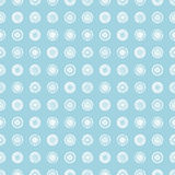 Seamless vector geometrical pattern with circles pastel endless background with hand drawn textured geometric figures. Graphic ill royalty free illustration