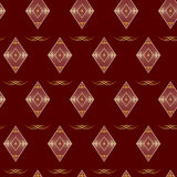 Seamless vector geometrical texture. Seamless  vector brown geometrical texture Stock Photos