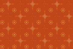 Seamless vector geometrical texture with crosses stock illustration