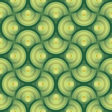Seamless vector green background organic pattern w Royalty Free Stock Image