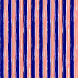 Seamless vector grunge geometrical pattern with hand drawn lines. Endless background with horizontal stripes Graphic design, grung Stock Photo