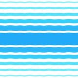 Seamless vector halftone pattern with gradient blue waves vector illustration