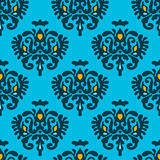 Seamless Vector Heraldry pattern Stock Image