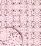 Seamless vector illustration. Abstract vector composition illustration with seamless background Royalty Free Stock Photos