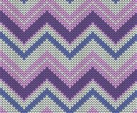 Seamless vector knitted texture Vector Illustration