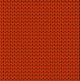 Seamless vector knitting pattern Royalty Free Stock Photos