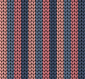 Seamless vector knitting pattern Stock Images