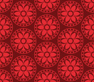 Seamless vector korean pattern Stock Photography