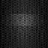 Seamless vector metal texture with highlighted frame for text vector illustration
