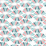Seamless vector nice pattern with retro flowers. For fabric, textile, wrapping, craft Royalty Free Stock Image