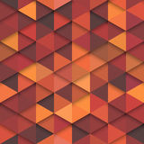 Seamless Vector Orange Fashion Pattern Royalty Free Stock Photo