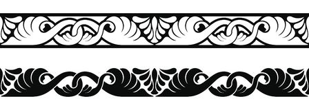Ancient Greek ornament. Seamless vector ornament in the Art Nouveau style based on ancient Greek elements vector illustration