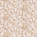 Seamless vector paisley background Stock Images