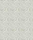 Seamless vector paisley pattern stock illustration