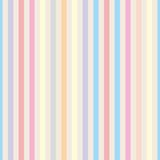 Seamless vector pastel stripes background Stock Images