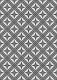Seamless vector pattern. Vector illustration - seamless black and white pattern Royalty Free Stock Images