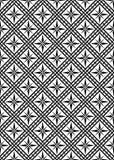 Seamless vector pattern. Vector illustration - seamless black and white pattern stock illustration