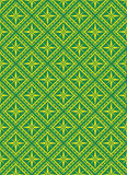 Seamless vector pattern. Seamless vector background - golden-green Royalty Free Stock Photos