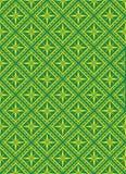 Seamless vector pattern. Seamless vector background - golden-green vector illustration