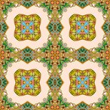 Seamless vector pattern. Abstract floral background -2 Royalty Free Stock Photo