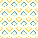 Seamless vector pattern with abstract shapes royalty free stock image