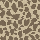 Seamless vector pattern with animal prints. Stock Image