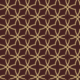 Seamless Vector Pattern in Arabian Style Stock Images