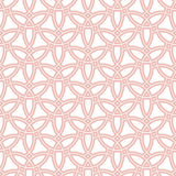Seamless Vector Pattern in Arabian Style Stock Image