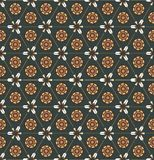 Seamless pattern with arrows and ethnic symbols Royalty Free Stock Photos