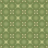 Seamless pattern with arrows and symbols Royalty Free Stock Image